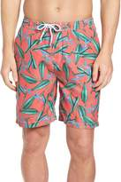 Trunks Swami Birds of Paradise Print Swim