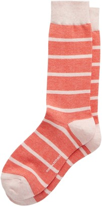 Banana Republic Birdseye Stripe Sock