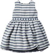 Carter's Sleeveless Striped Sateen Dress - Baby Girls newborn-24m