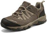 Clorts Men's Hiking Shoes Outdoor Suede Leather Waterproof Hiking Trekking Footwear