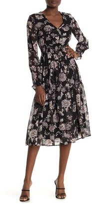 Taylor Printed Floral Smocked Dress