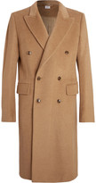 Vetements Double-Breasted Camel Coat