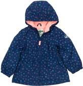 Osh Kosh Oshkosh Bgosh Girls 4-8 Midweight Tiny Flower Fleece-Lined Windbreaker Jacket