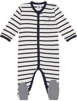 Petit Bateau Striped All-in-One