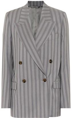 Acne Studios Striped wool blazer