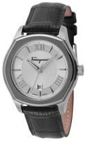 Salvatore Ferragamo Lungarno Mens Stainless Steel Watch