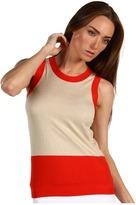 Kate Spade Colorblock Tank (Perfect Beige/Sumac) - Apparel