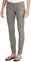 Request Jeans Leopard Print Skinny Jeans (For Women)