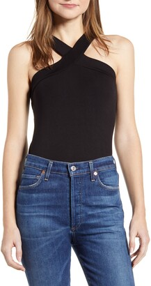 Loveappella Loveapella Halter Neck Tank Top