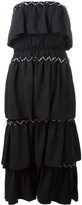 Sonia Rykiel Strapless Tiered Dress