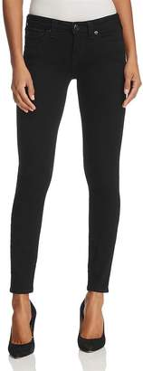 True Religion Halle Super Skinny Jeans in Way Back Black