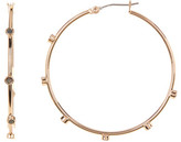 Vince Camuto Shell Stud Hoop Earrings