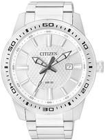 Citizen Silvertone Automatic Bracelet Watch - Men
