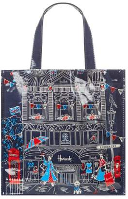 Harrods London Sw1 Small Shopper Bag
