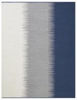 Williams-Sonoma Perennials Ikat Stripe Indoor/Outdoor Rug, Black