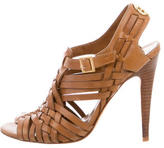 Tory Burch Leather Cage Sandals