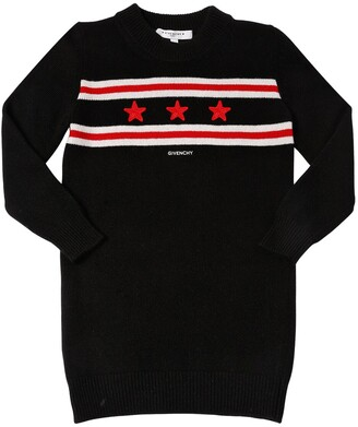 Givenchy Wool & Cashmere Blend Knit Sweater Dress