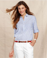 Tommy Hilfiger Shirt, Long-Sleeve Striped