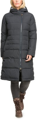Roxy Everglade Hooded Long Puffer Coat