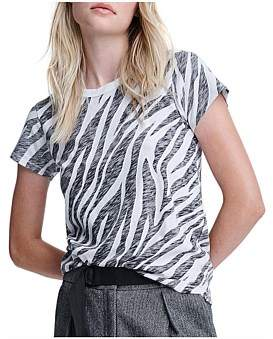 Rag & Bone All Over Zebra Tee