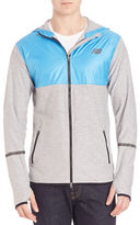 New Balance Contrast Athletic Hoodie
