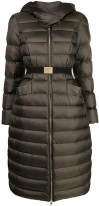 Liu Jo Belted Padded Coat