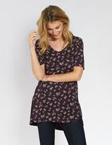 Fat Face Liza Teatime Floral Longline Top