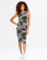 Superdry Tipped Midi Dress