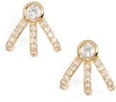 Melinda Maria Women's Mini Huggie Earrings