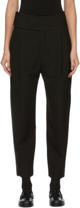 Totême Black Lombardy Trousers