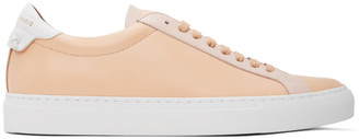 Givenchy Pink and White Urban Knots Sneakers