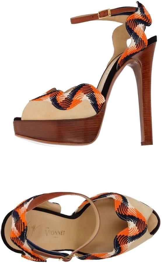 Giuseppe Zanotti x VIONNET Sandals
