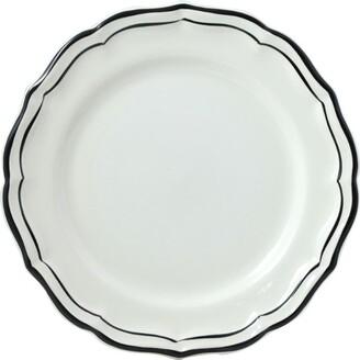 Gien Filet Manganese Dessert Plate (23.2Cm)