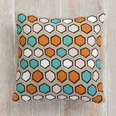 Minted Bright Hexagons Square Pillow