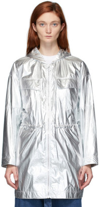 Stella McCartney Silver Noelia Parka Jacket