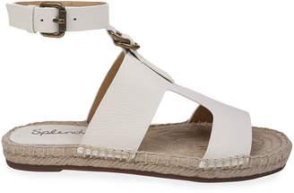 Splendid Suede Flat Espadrille Sandals