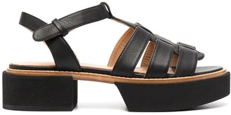 Paloma Barceló Chunky Leather Sandals