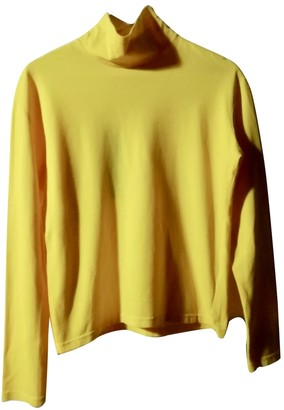N. Non Signé / Unsigned Non Signe / Unsigned \N Yellow Cotton Tops
