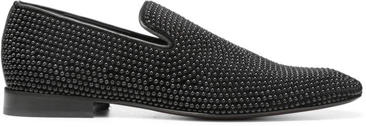 Donald J Pliner PALANO2SP, Embellished Velvet Loafer