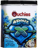 Safety First Ouchies Bandages 4 Boyz, 20 ct