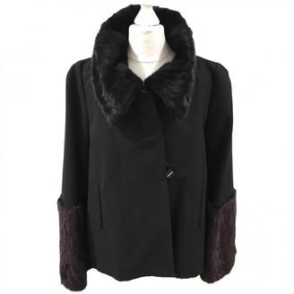 Anya Hindmarch Black Cotton Jackets