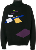 Gosha Rubchinskiy high neck jumper with print