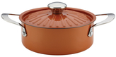 Rachael Ray 2.5QT. Round Stainless Steel Covered Casserole