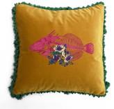 Bivain Fish Frida Velvet Cushion