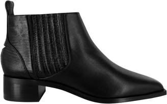 Senso Leighton Textured Leather Booties