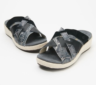 Spenco Orthotic Multi-Strap Slide Sandal - Memphis