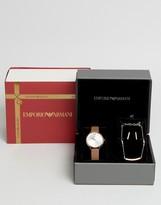 Emporio Armani Watch & Jewelry Set