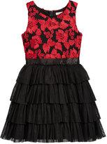 Nanette Lepore Soutache Bodice Party Dress, Big Girls (7-16)
