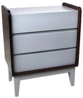 Zutano Tivoli 3 Drawer Dresser - Cloud/White