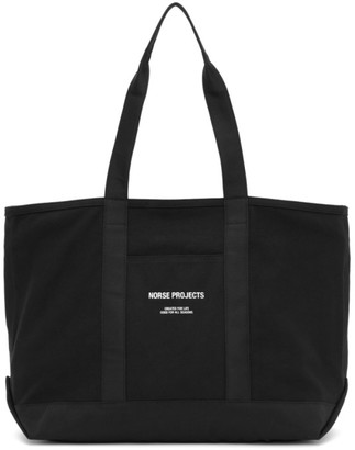Norse Projects Black Canvas Stefan Tote